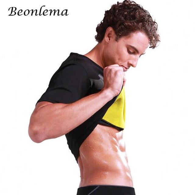 b7f1ef5ed1 Beonlema Hot Shapers Men Neoprene Tops Stomach Slimming Belt Sweat Vest  Slim Shapewear Ultra Tummy Shaper Sauna Wear Shirt
