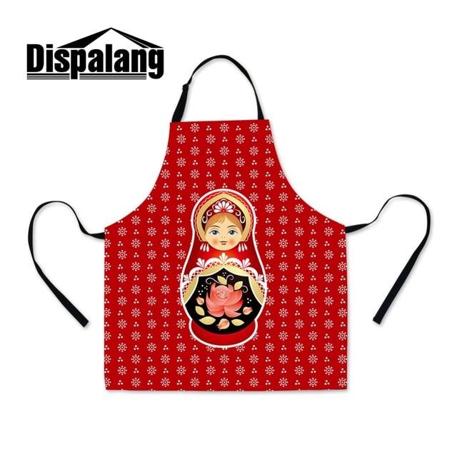 dropshipping matryoshka doll printed apron for school russian doll rh aliexpress com