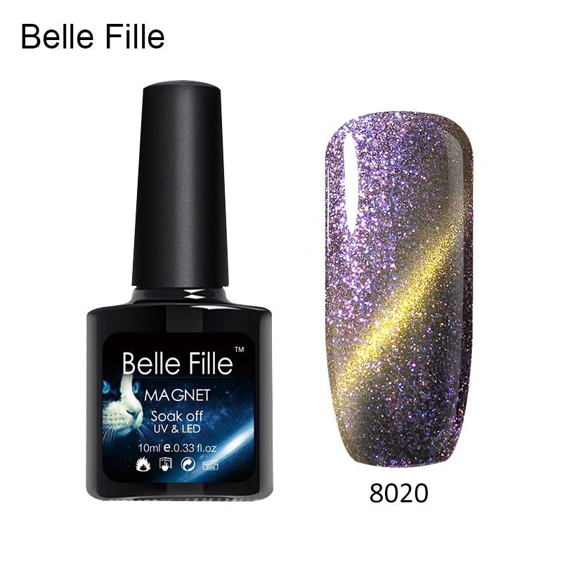 Belle Fille UV Gel Kat OGEN Kameleon Nagels Gel Phantom Vernis - Nagel kunst