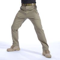 IX9 II City Military Tactical Cargo Pants Men Combat SWAT Army Military Climbing Trousers Cotton Pocket