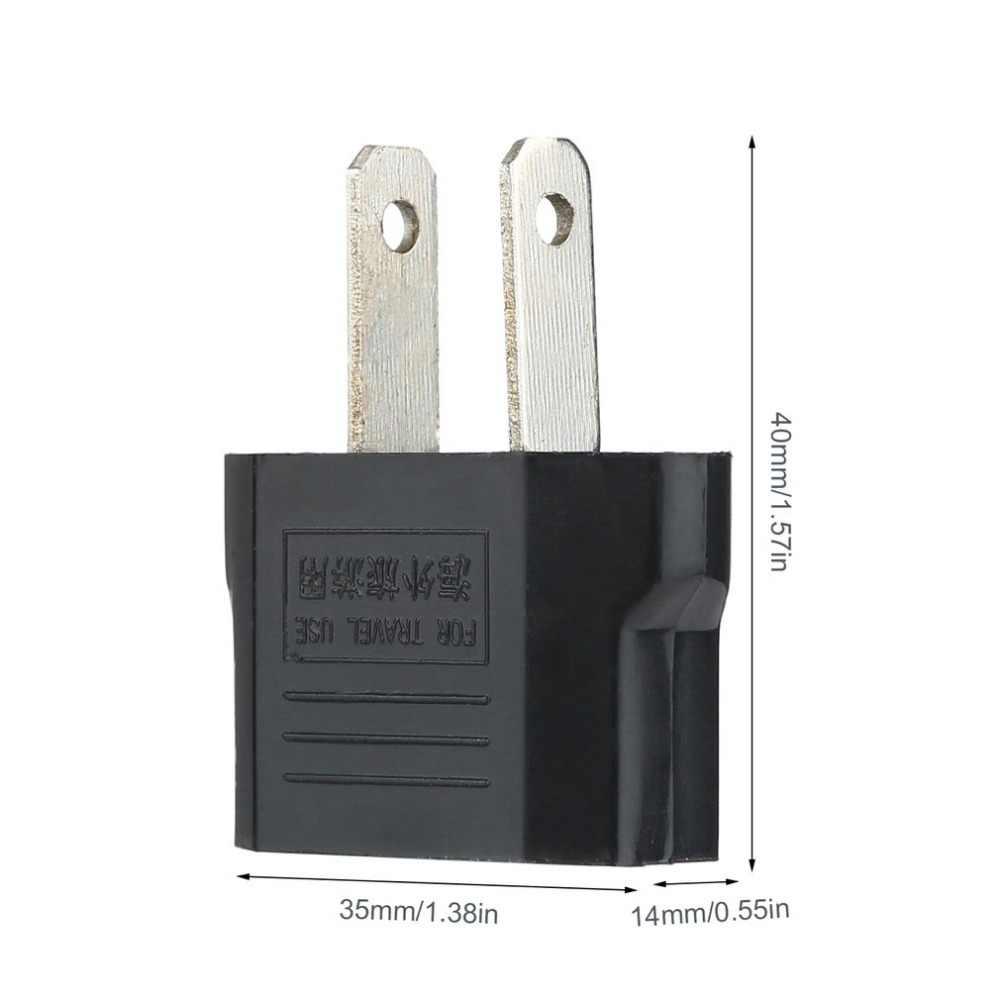 Universale EU US di AC Plug Power Adapter Adattatore Convertitore di Corsa Nero di Corsa Della Parete del Caricatore di Potere del Convertitore 100 ~ 240V ICOCO 6A