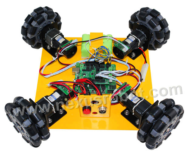 4WD 100mm omni kotač za učenje - Škola i obrazovni materijali