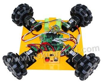 4WD 100mm omni wheel learning kit 10008