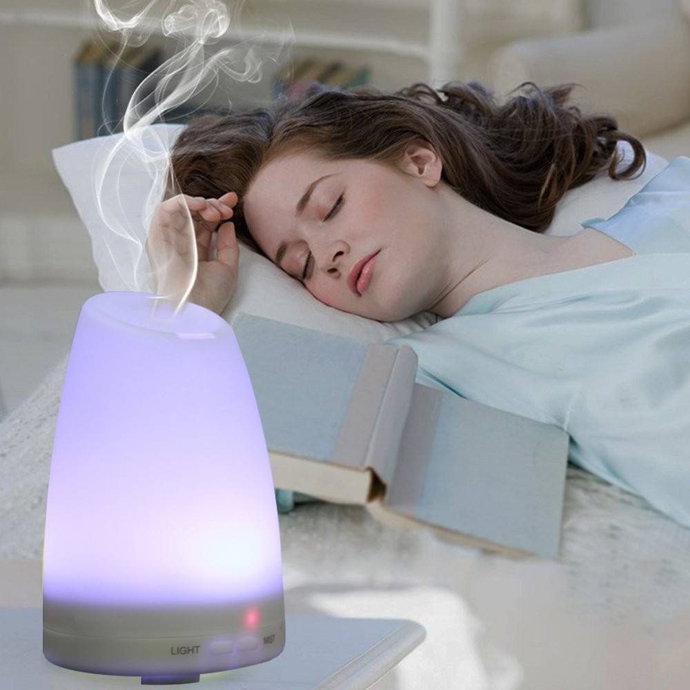 Ultrasonic Humidifier Essential Oil Diffuser Cool Mist