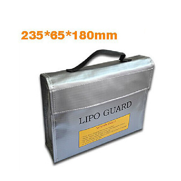 235 X 65 X 180 mm RC LiPo Battery Safety Bag Safe Guard Protection Charge Sack