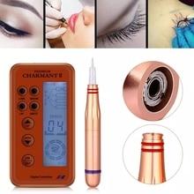 Embroidery Eyebrow Charmant Tattoo Machine MTS Semi Permanent Makeup Microblading Kit Eyebrow Lip Eyeliner Body Art Machine
