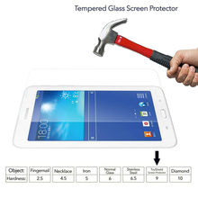 "Tab E Lite 7.0 SM-T113 T110 T111 T116 Kaca Tempered untuk Galaxy Tab 3 Lite 7.0 ""Screen Protector 9 H Tablet Kaca(China)"