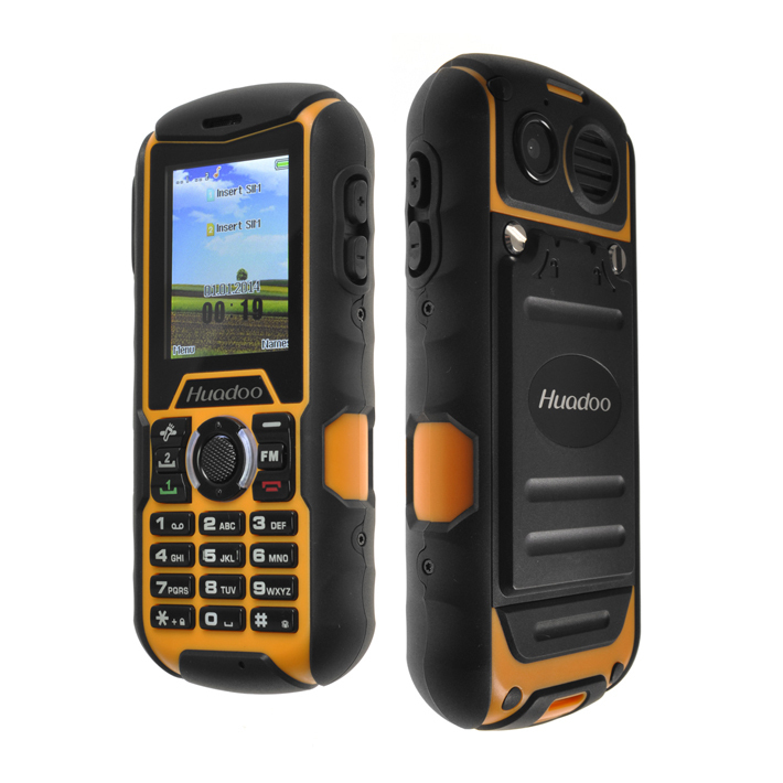 Original Huadoo H1 Waterproof Phone 2 0 MTK6261A Rugged Dustproof Phone 1700mAh Shockproof Outdoor Phone Multi