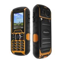 """D'origine Huadoo H1 Étanche Téléphone 2.0 """"MTK6261A Robuste Antipoussière Téléphone 1700 mAh Antichoc Extérieure Téléphone Multi-langue"""