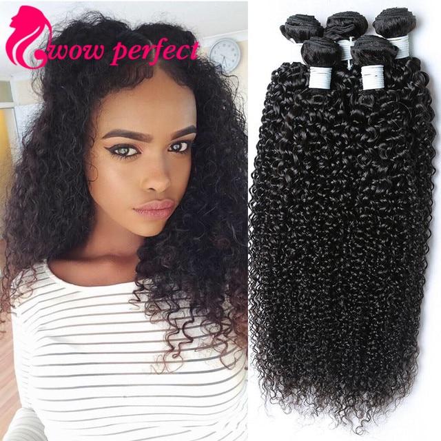 grade 7A kinky curly virgin hair 4 piece lot bundles brazilian virgin hair kinky curly weave human hair afro kinky curly hair