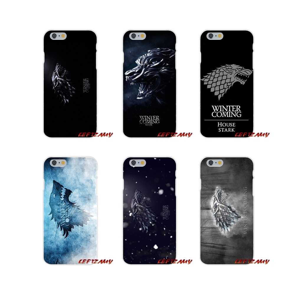 Game Of Throne Winter Is Coming Printing For Samsung Galaxy A3 A5 A7 J1 J2 J3 J5 J7 2015 2016 2017 Soft Transparent Cases Covers