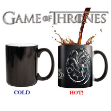 Game of Thrones Tasse Targaryen Taza Juego De Tronos Mark Farbwechsel Copo Sensitive Keramik Drimkware