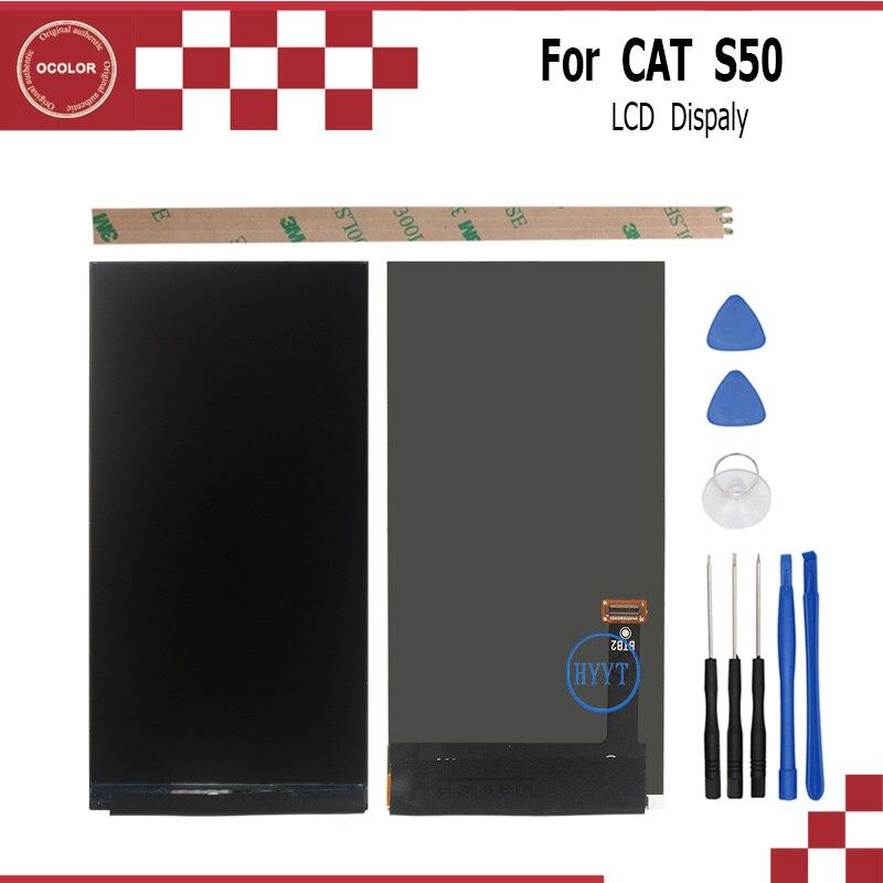 imágenes para Para el GATO S50 Pantalla LCD de 4.7 Pulgadas 1280*720 Smartphone de Pantalla Accesorios Para GATOS S50 Reemplazo Del Teléfono Móvil Con herramientas