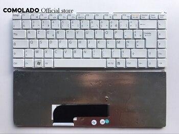 Clavier français FR pour Sony VAIO VGN N VGN-N N150P N120GW N160G N170G N320E VGN-N220E N230E N21EW disposition clavier blanc FR