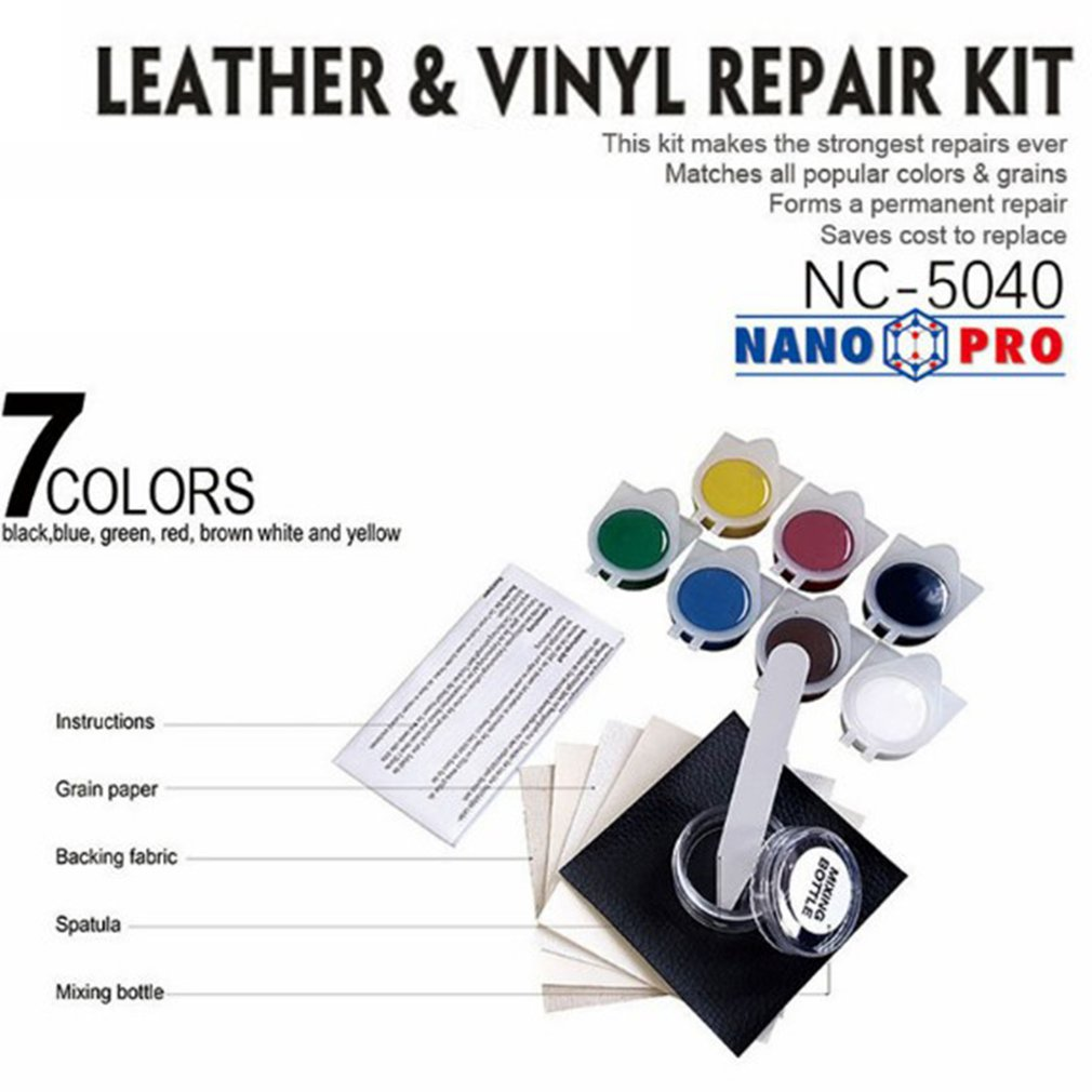 Leather Refinish and Restorer Kit Car Seat Leather Sofa ...