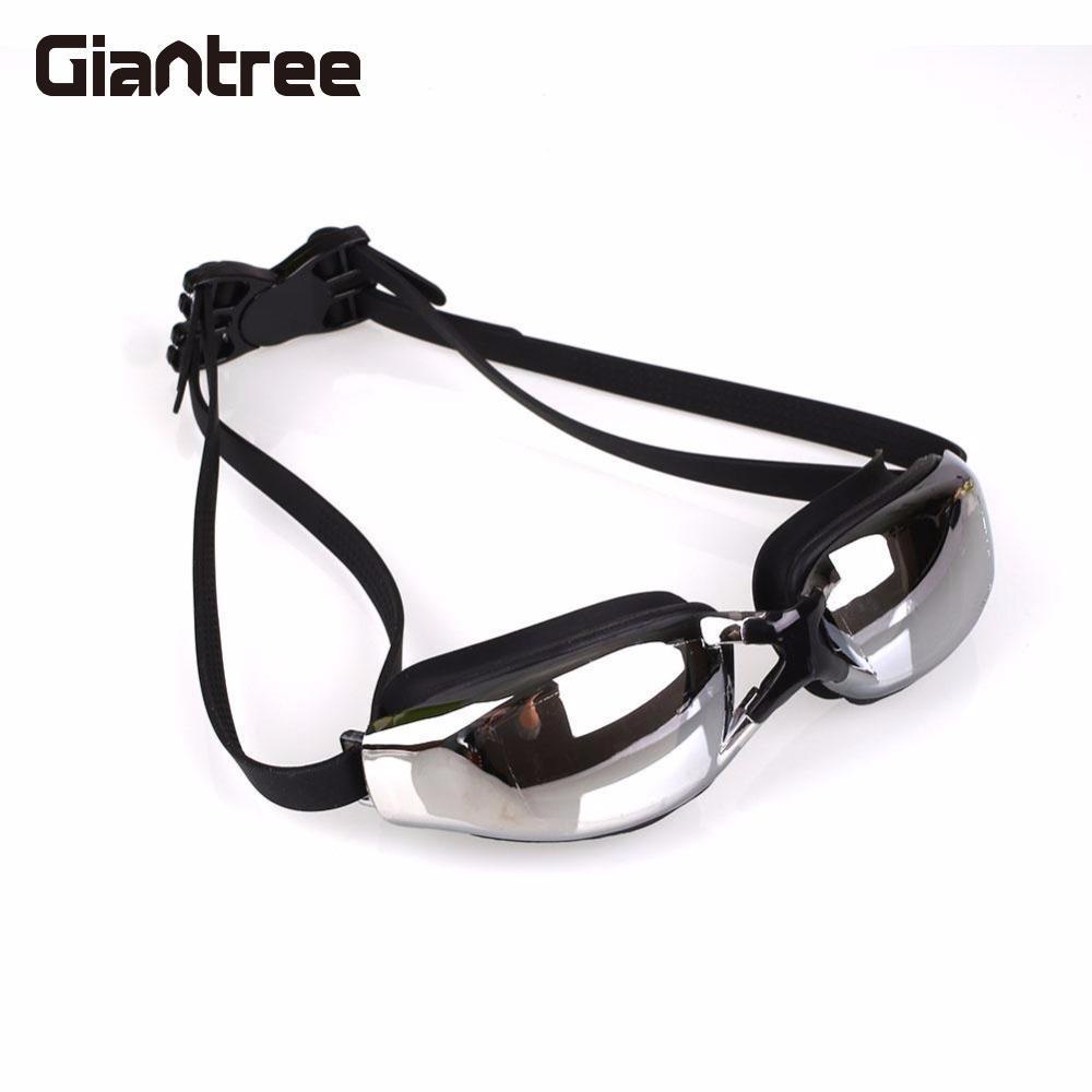 Giantree Unisex Sportswear Anti-fog Waterproof Goggles Adults Optical Myopia Swimming Colored Goggles Swim Eyewear Glasses anti fog uv protectionwaterproof myopia swimming goggles