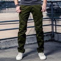 Men Military Tactical Cargo Pants Combat SWA Twat Pantalones Hombre Straight Slim Army Green Pants Sweatpants Man Brand Trousers