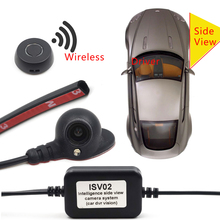 Hot Sale Intelligent Side View Camera System Night Vision Car 4 PINs For DVR Dash