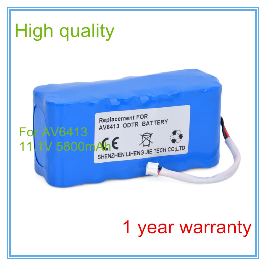 Instrumentation battery,Optical Time Domain Reflectometer Battery FOR AV6413 OTDR Battery High Quality 100%NEW,1year
