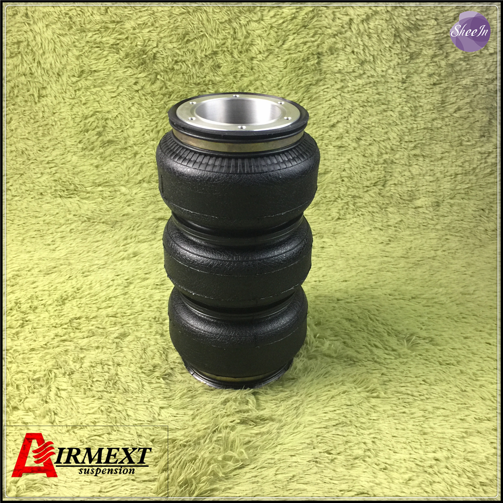 SN142268BL3 H OPEN encplate triple air suspension airspring BELLOW rubber airspring airride shock absorber pneumatic parts