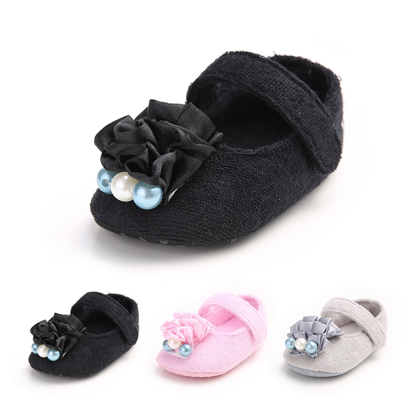 Baby Girl Shoes Todder First Walkers Shoes Infant Girls Prewalker Flower Soft Sole Shoes