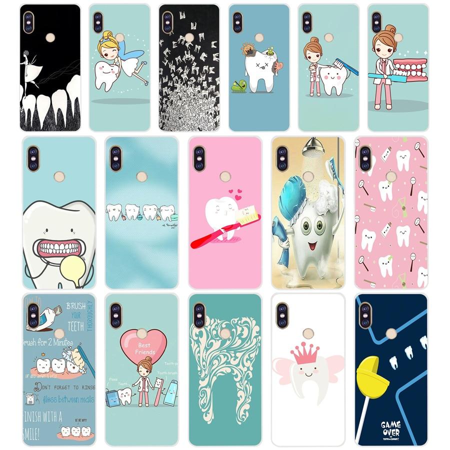 210sd Cartoon Medicine Nurse Doctor Dentist Soft Silicone Tpu Cover Phone Case For Xiaomi Redmi 6 Pro 6a Note 5 6 Pro Mi 8 Lite Cellphones & Telecommunications Phone Bags & Cases