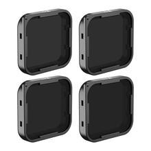 Комплект фильтров Freewell ND включает ND4, ND8, ND16 и ND32 (4 шт. в упаковке) для камеры GoPro Hero7 Black, Hero5 и Hero6 Black