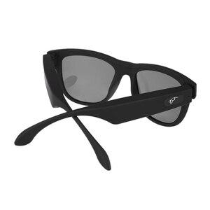 Image 2 - Bgreen condução óssea fone de ouvido bluetooth áudio inteligente polarizado óculos de sol vidro com bluetooth correndo fone de ouvido caminhadas