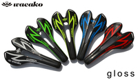 New Design Wacako Full Carbon Fiber Road Bicycle Saddle Road Mountain Mtb Cycling Bike Seat Saddle