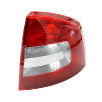Right Side For Skoda Octavia A6 RS 2009 2010 2011 2012 2013 Car Rear Lights Tail Light