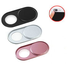 Metal Mobile phone Laptop Camera lens case Webcam Cover Slider Web Camera Sticker Shutter for MacBook Pro iMac PC iPad Tablet
