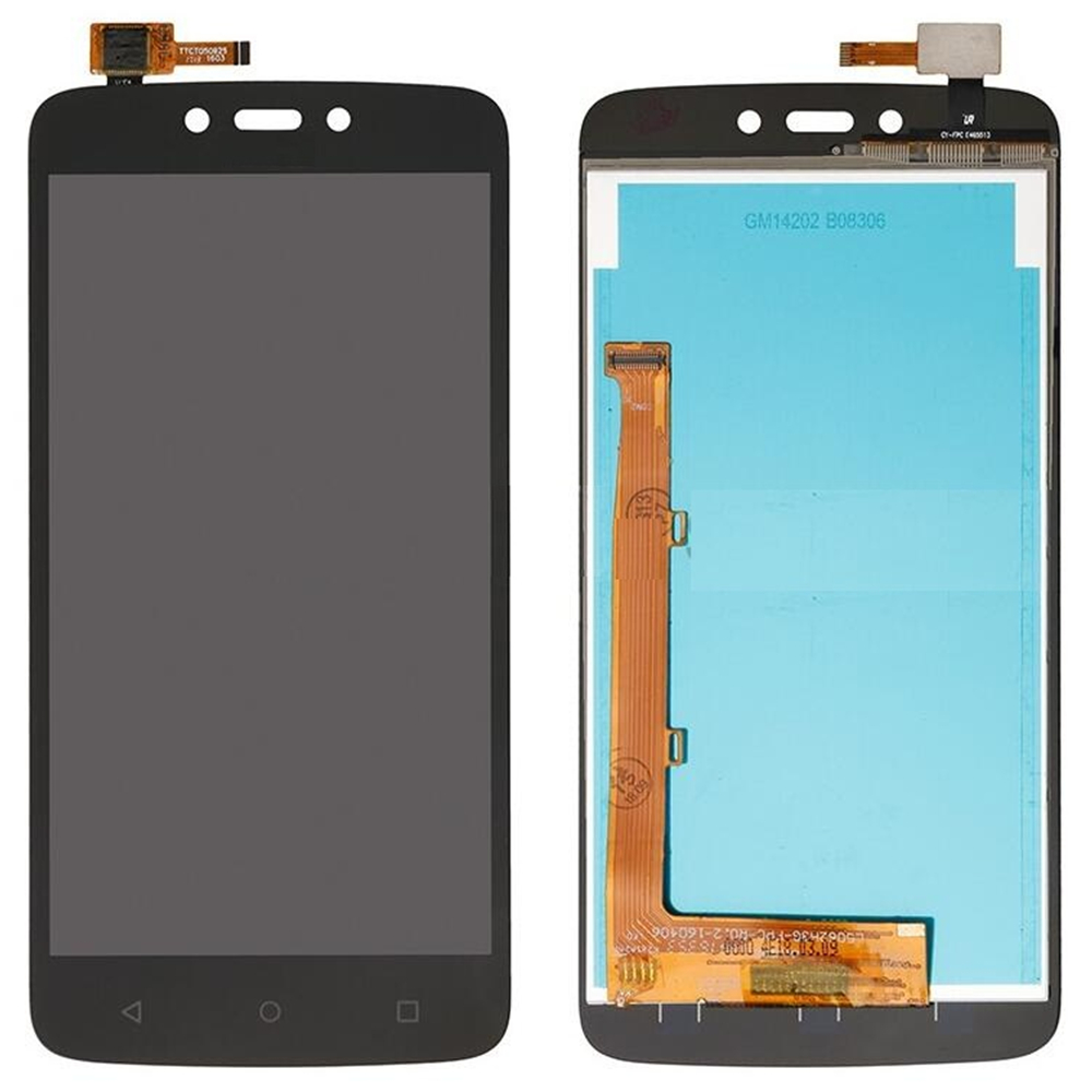 For Motorola Moto C Plus <font><b>XT1723</b></font> LCD Screen and Digitizer Assembly Replacement!!(Black/White/Gold) image