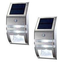 Led Solar Light 2 Led Outdoor Wall Lamp Waterproof PIR Motion Sensor Energy Saving Sense Emergency Path Wall Security Lamps