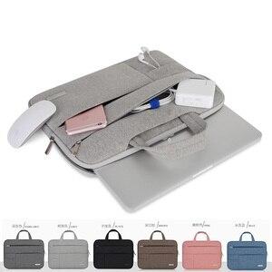 Image 2 - 11 11.6 13 13.3 Inç Taşınabilir çanta Erkekler Laptop Çantası/Kol Apple Mac Macbook Hava Pro Notebook çanta 14 15.6 Inç