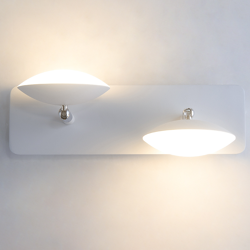 Creative Fashion Wall Bedroom Bedside Lamp Reading Led Sconce Wall Lights Minimalist Modern Bathroom Wall Lamps Can Rotate цена 2017