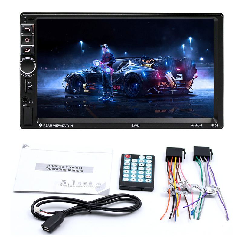2018 Auto High Definition 7 Inch Touch Screen Car Bluetooth MP5 Player, Car Double Spindle MP4/GPS Navigation Integrated Machine
