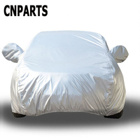 CNPARTS Car Covers For BMW F20 E87 Audi A3 A1 Opel Astra H J G Volkswagen Polo VW Golf 4 7 5 6 Hatchback L Waterproof Dustproof