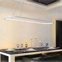 Modern Silicone Aluminum LED Simple Scandinavian Restaurant Chandelier Interior Lighting Home Decor Cord Pendant Chandelier