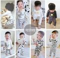0-4age autumn winter baby pajamas kids cartoon boys and girls pijama sleepwear home pijama infantil kids cotton pijamas fille