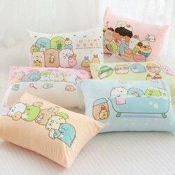Candice guo! Милая плюшевая игрушка, милая семейная наволочка Sumikko Gurashi в виде рыбки для ванной, Мягкая Наволочка для подушки, подарок для девушки ...