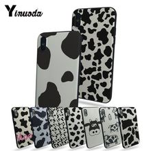 Yinuoda black and white cow On Sale Luxury Cool Phone Accessories Case For