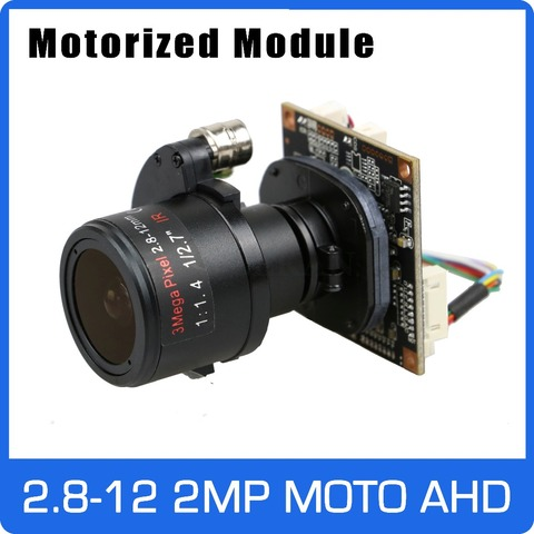 motor 4x ahd camera 1080 p 2 8 12mm zoom lente focal automatica sony cmos