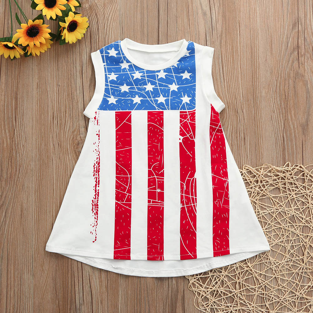MUQGEW summer Girl fourth of July outfits Independence Day