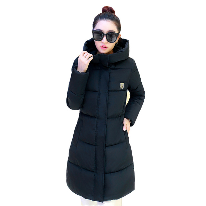 2016 New Winter Women Long Warm Cultivate One's Morality Upset Down Jacket Have Plus Size Fashion Coat Female Padded Parka аксессуар bbb bbc 03 black