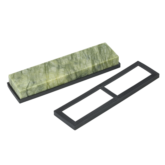 kitchen knife sharpening stone ikea island natural emerald 10000 grit for knives polishing tools sharpener stones