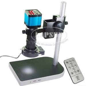 Камера для микроскопа, промышленная лаборатория, 14 МП, 1080P, CMOS, HDMI, USB выход, видеорегистратор + объектив с-креплением + светодиодная кольцевая ...