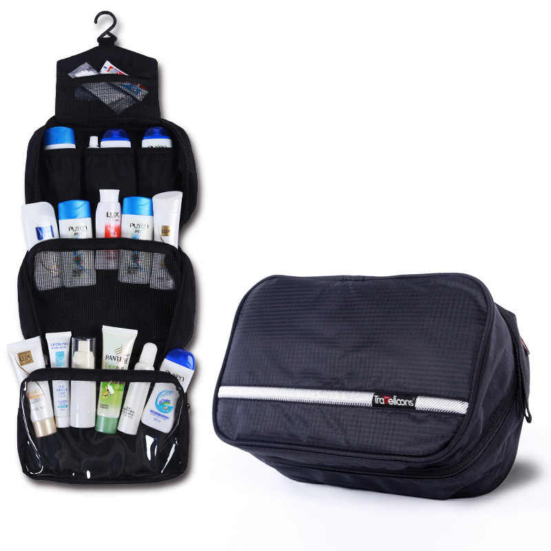 Travel Cosmetic Bag Men Wash Shaving Bag Waterproof Women toiletry Storage Large Capacity Vanity organizer toilet bag makeup kit