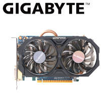 Gigabyte grafische kaart gtx 750 ti 2GB GV-N75TOC-2GI NVIDIA GeForce GTX 750 Ti GPU GDDR5 128-bit 2GB voor pc gamer video card