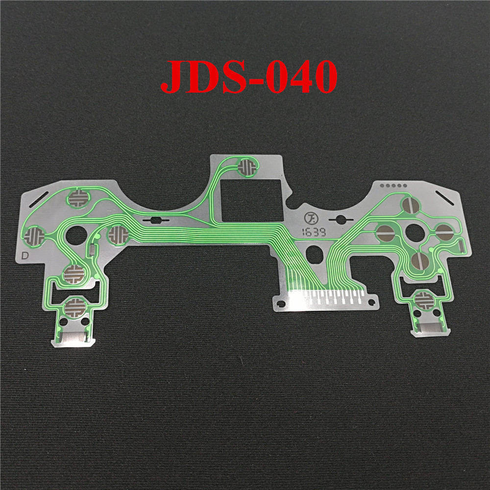 Ivyueen Replacement Buttons Ribbon Circuit Board For Ps4 Dualshock 4 Controller Repair Parts Pcb M Type Ps2 Film Jds001 Jds030 Jds040