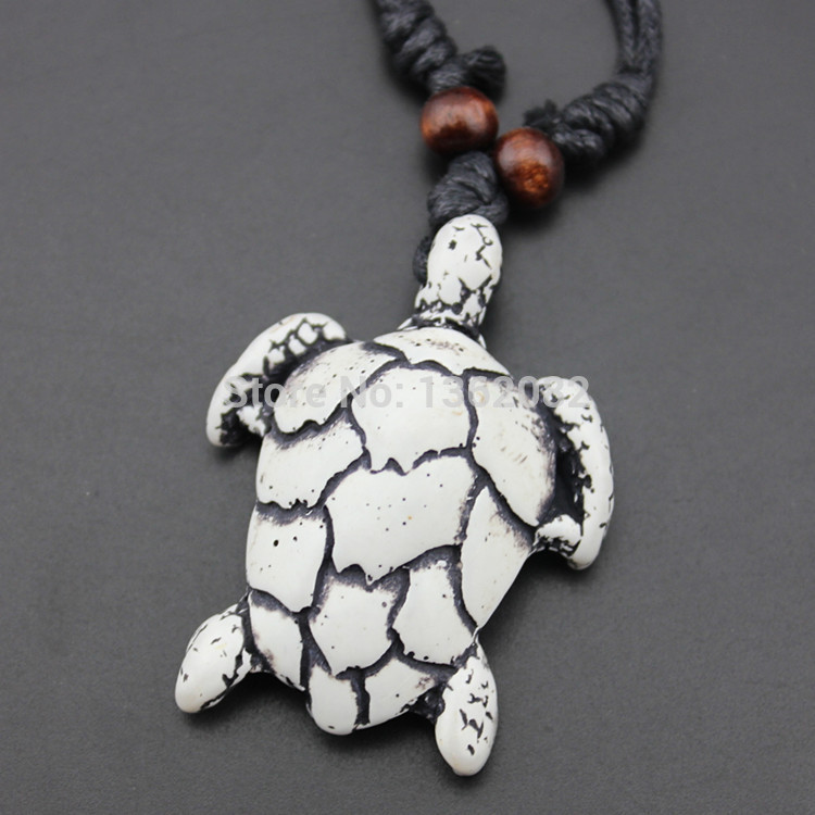 Fashion Faux Bone Carved Tribal Sea Turtles Pendant Surfing Necklace Gift Yn443 Surf Necklace Bone Carvingturtle Pendant Aliexpress